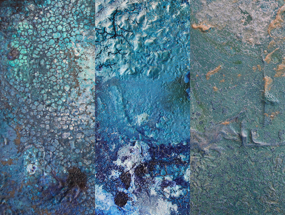Bildmontage aus der Reihe: das kleine Blaue